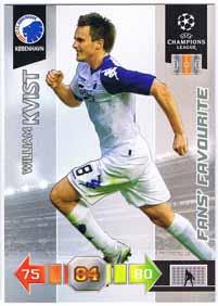 Fans Favourites 2010-11 Adrenalyn Champions League Update, William Kvist