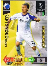 Champion 2010-11 Adrenalyn Champions League Update, Jesper Grønkjær