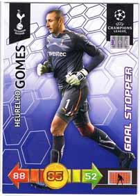 Goal Stoppers 2010-11 Adrenalyn Champions League Update, Heurelho Gomes