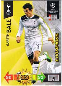 Champion 2010-11 Adrenalyn Champions League Update, Gareth Bale