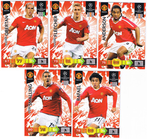 Update base teamset Manchester United Champions League 2010-11