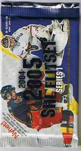100 Packs 2004-05 Swedish SHL series 1
