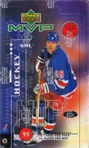 Hel Box 1998-99 MVP Retail (Plasten runt boxarna är sprucken)