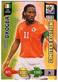 Limited Edition, 2010 Adrenalyn WC, Dider Drogba