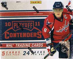 Sealed Box 2010-11 Panini Contenders