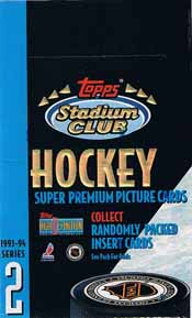 Hel Box 1993-94 Topps Stadium Club Serie 2