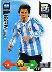 2010 Adrenalyn VM, Lionel Messi