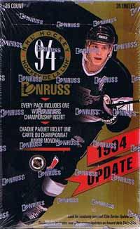 Sealed Box 1993-94 Donruss Update