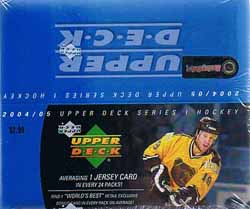 Hel Box 2004-05 Upper Deck Serie 1 Retail