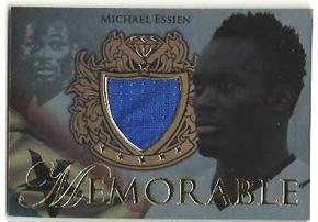 Michael Essien 2011 Futera Memorable Jersey /299