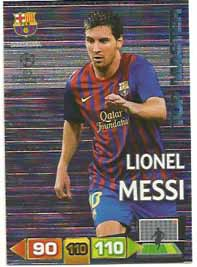 Top Master, 2011-12 Adrenalyn Champions League, Lionel Messi