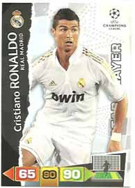 Star Player, 2011-12 Adrenalyn Champions League, Cristiano Ronaldo