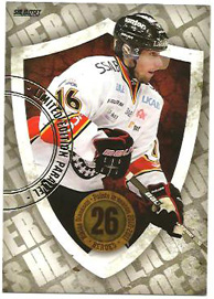 2011-12 SHL s.1 Heroes Parallel version #08 Niklas Olausson Luleå HC