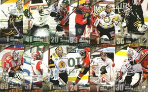 Base set (1-144) SHL Elitserien 2011-12 series 1