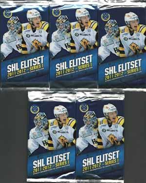 5 Packs SHL Elitserien 2011-12 series 1
