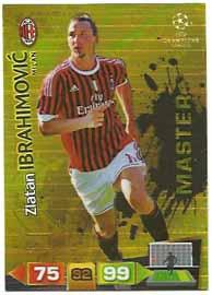 Master, 2011-12 Adrenalyn Champions League, Zlatan Ibrahimovic