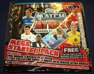 Startpaket, 2011-12 Premier League Topps Match Attax