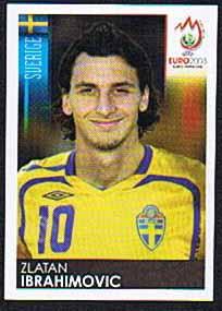 Zlatan Ibrahimovic 2008 Panini Stickers Euro 2008 #406