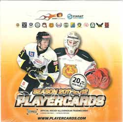 Sealed Box 2011-12 Hockeyallsvenskan (14 Packs)