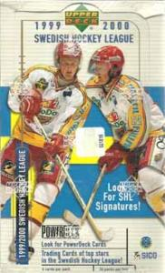 Sealed box 1999-00 UD Swedish SHL Elitserien