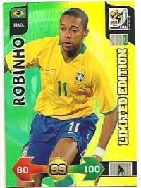 Limited Edition, 2010 Adrenalyn VM, Robinho