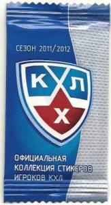 1 Pack 2011-12 KHL-stickers (West and East)