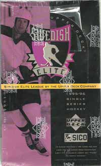 Sealed Box 1995-96 UD SHL