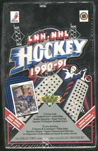 Sealed Box 1990-91 Upper Deck Canadian, High Series