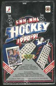 Hel Box 1990-91 Upper Deck Canadian, Höga serien