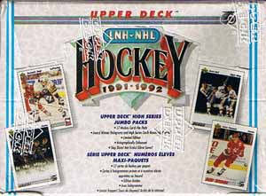 Hel Box 1991-92 Upper Deck Jumbo, Höga Serien - French