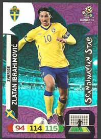 Scandinavian Stars, 2012 Adrenalyn EM/ Euro 2012, Zlatan Ibrahimovic