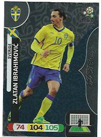 Masters, 2012 Adrenalyn EM/ Euro 2012, Zlatan Ibrahimovic