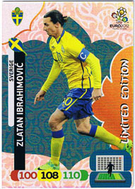 Limited Edition, 2012 Adrenalyn EM/ Euro 2012, Zlatan Ibrahimovic