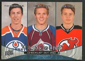 Gabriel Landeskog/ Ryan Nugent-Hopkins/ Adam Larsson 2011-12 Upper Deck #250