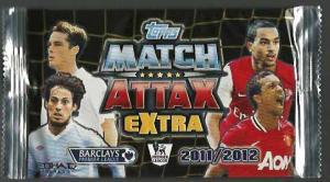 1st Paket 2011-12 Premier League Topps Match Attax Extra