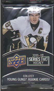 1st Paket 2011-12 Upper Deck Serie 2 Hobby