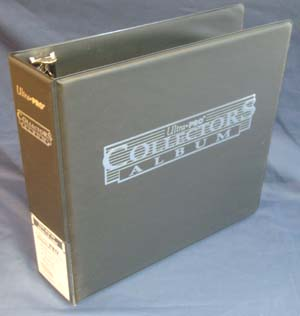 3 Ring binder, Black Collectors