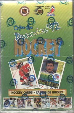 Hel Box 1991-92 O-Pee-Chee Premier