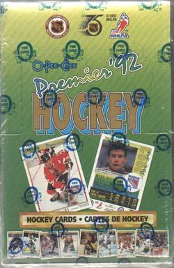 Sealed Box 1991-92 O-Pee-Chee Premier