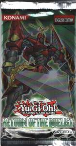 Yu-Gi-Oh, Return of the Duelist, 1 Booster