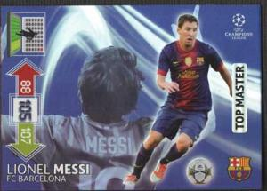 Top Master, 2012-13 Adrenalyn Champions League, Lionel Messi