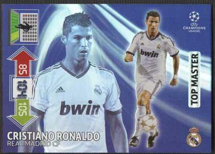 Top Master, 2012-13 Adrenalyn Champions League, Cristiano Ronaldo