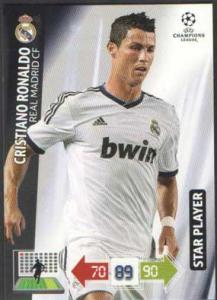 Star Player, 2012-13 Adrenalyn Champions League, Cristiano Ronaldo