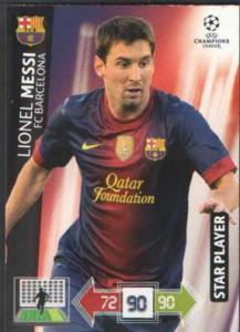 Star Player, 2012-13 Adrenalyn Champions League, Lionel Messi