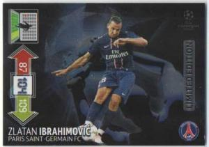 Limited Edition, 2012-13 Adrenalyn Champions League, Zlatan Ibrahimovic