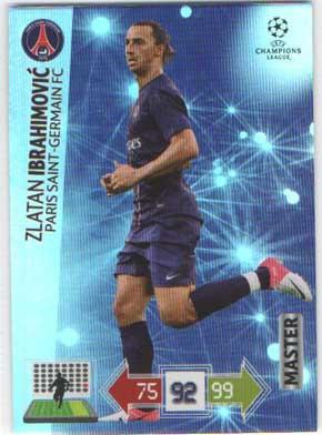 Master, 2012-13 Adrenalyn Champions League, Zlatan Ibrahimovic