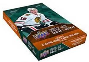 Hel Box 2012-13 Upper Deck serie 1 Hobby