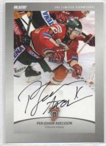 2012-13 SHL s.2 Limited Signatures #1 Per-Johan Axelsson Frölunda Indians /30
