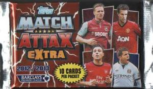 1st Paket Topps Match Attax EXTRA Premier League 2012-13
