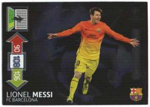 Limited Edition, 2012-13 Adrenalyn Champions League Update, Lionel Messi